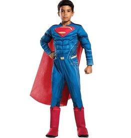 RUBIES COSTUME ENFANT DELUXE JUSTICE LEAGUE - SUPERMAN
