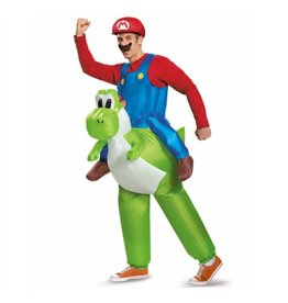 Disguise COSTUME ADULTE MARIO ET YOSHI STD