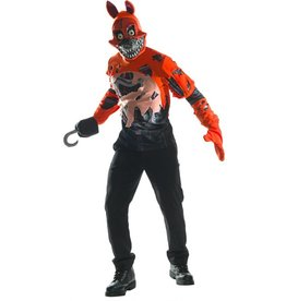 RUBIES COSTUME ADULTE FIVE NIGHTS AT FREDDY'S -NIGHTMARE FOXY