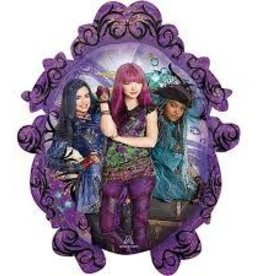 SKS BALLON MYLAR SUPERSHAPE DESCENDANTS 2