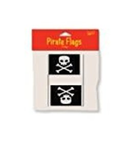 Creative Converting MINI DRAPEAU PIRATE EN PLASTIQUE