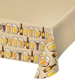 Creative Converting NAPPE EN PLASTIQUE 54X102 - CHEERS & BEERS