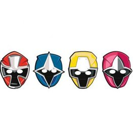 Amscan MASQUES POWER RANGERS (8)