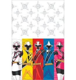 Amscan NAPPE POWER RANGERS