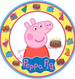 Amscan ASSIETTES 9PO - PEPPA PIG (8)