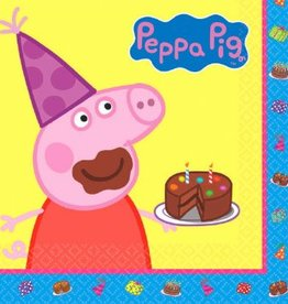 Amscan SERVIETTES DE TABLE - PEPPA PIG (16)