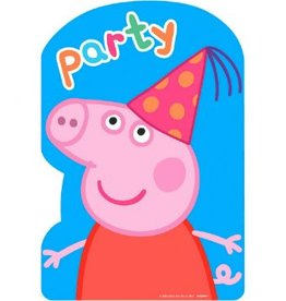 Amscan INVITATIONS - PEPPA PIG (8)