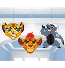 Amscan DÉCORATIONS À SUSPENDRE LA GARDE DU ROI LION