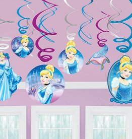 Amscan DÉCORATIONS SUSPENDUES - DISNEY CENDRILLON