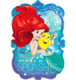 Amscan INVITATIONS - DISNEY ARIEL (8)