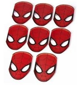 Amscan MASQUES SPIDER-MAN (8)