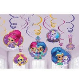 Amscan DÉCORATION SUSPENDU SHIMMER AND SHINE
