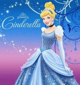 Amscan SERVIETTES DE TABLE - DISNEY CENDRILLON (16)