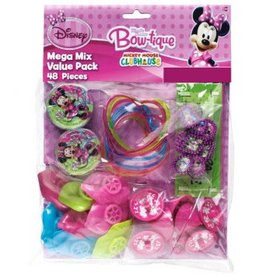 Amscan BABIOLES MEGA MIX - MINNIE MOUSE (48)