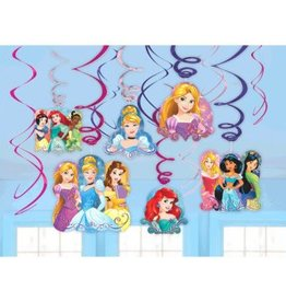 DÉCORATIONS TOURBILLONS DISNEY PRINCESSES (12)