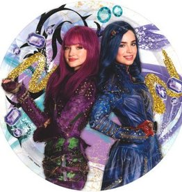 Amscan ASSIETTES 9'' (8) - DESCENDANTS 2