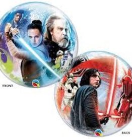 Qualatex BALLON BUBBLES STAR WARS