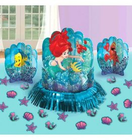 Amscan ENSEMBLE DE DÉCORATIONS POUR TABLE - DISNEY ARIEL