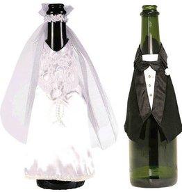 Amscan COUVRE-BOUTEILLE DE MARIAGE - LES MARIÉS