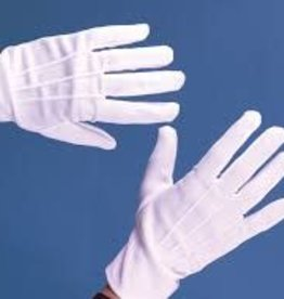 FUN WORLD GANTS EN POLYESTER - BLANC