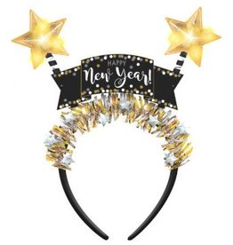 Amscan SERRE-TÊTE LUMINEUX HAPPY NEW YEAR