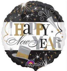 Anagram BALLON MYLAR 18'' NEW YEAR CELEBRATION