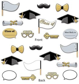 Beistle Co. ACCESSOIRES PHOTOBOOTH (11/PQT) - GRADUATION