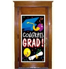 "Beistle Co. DÉCORATION DE PORTE ""CONGRATS GRAD"" - GRADUATION"