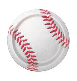 "Unique ASSIETTES 7"" (8) - BASEBALL"