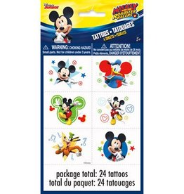 Unique TATOUAGES (4 PQT) - MICKEY MOUSE