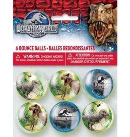 Unique BALLES REBONDISSANTES (6) - MONDE JURASSIQUE