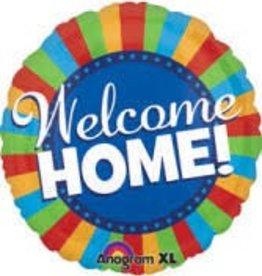 Anagram BALLON MYLAR SUPERSHAPE - WELCOME HOME