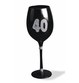 Forum Novelty VERRE À VIN - 40 ANS