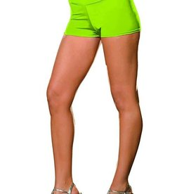 Dreamgirl HOT SHORT EXTENSIBLE LIME M-L
