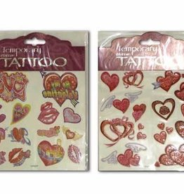 Handee Products TATOUAGES TEMPORAIRES ST-VALENTIN