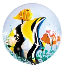 Qualatex BALLON DOUBLE BUBBLES POISSONS TROPICAUX
