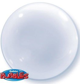 Qualatex BALLON BUBBLES TRANSPARENT UNI 20PO