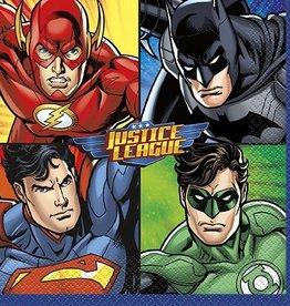 Unique SERVIETTES DE TABLE - JUSTICE LEAGUE (16)