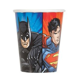 Unique VERRES 9OZ (8) - JUSTICE LEAGUE