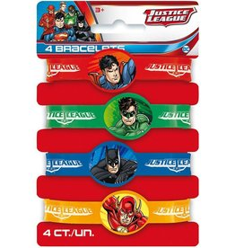 Unique BRACELETS EN SILICONE (4) - JUSTICE LEAGUE