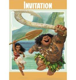 Unique INVITATIONS (8) - MOANA