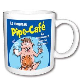 Créations ozze TASSE PIPE-CAFÉ