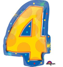 Anagram BALLON MYLAR JUNIOR SHAPE 4 ANS