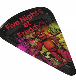 Forum Novelty ASSIETTES À PIZZA (8) - FIVE NIGHTS AT FREDDY'S
