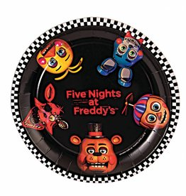 Forum Novelty ASSIETTES 9'' (8) - FIVE NIGHTS AT FREDDY'S