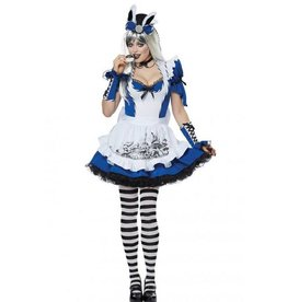 California Costumes COSTUME ADULTE - MALICIEUSE ALICE -
