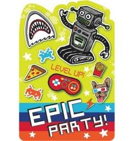 Amscan INVITATIONS (8) - ÉPIC PARTY
