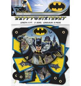 Unique BANDEROLE 6PI HAPPY BIRTHDAY - BATMAN