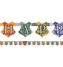 Unique BANDEROLE 6PI HAPPY BIRTHDAY - HARRY POTTER