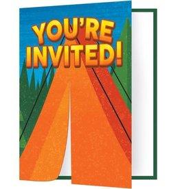 Creative Converting INVITATIONS (8) - CAMPING